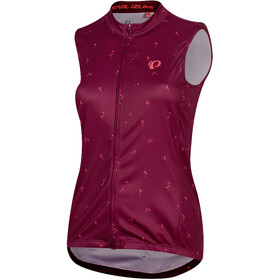PEARL iZUMi Select Graphic - Maillot sans manches Femme - rouge